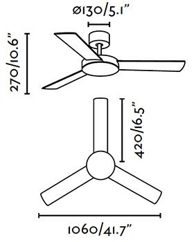 FARO 33605 schéma - ventilátor