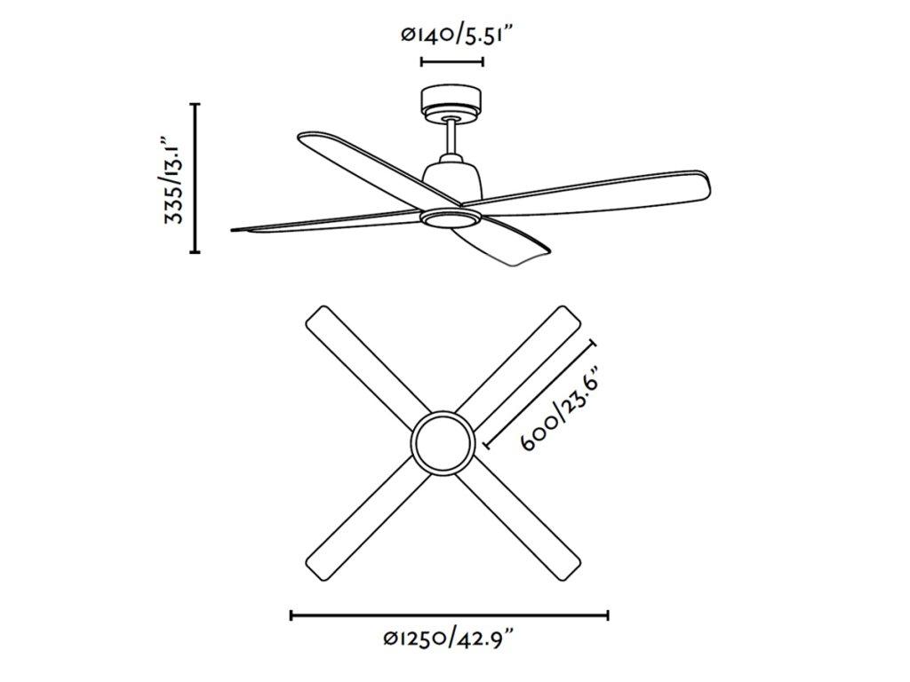 Schéma stropní ventilátor faro 33475 molokai
