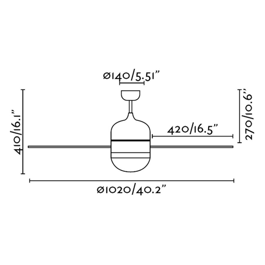 Schéma stropní ventilátor faro 33606 cebu