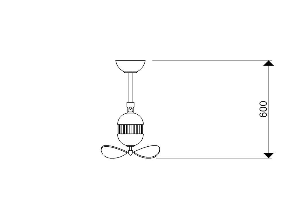 Schéma stropní ventilátor aireryder fn11146 toledo