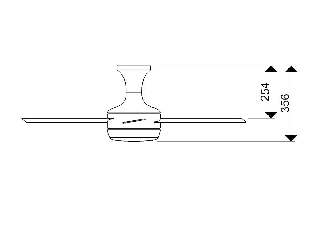 Schéma stropní ventilátor aireryder fn72238 saturn