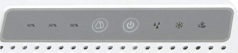 Odvlhčovač vzduch Trotec TTK 25 E - ovládací panel