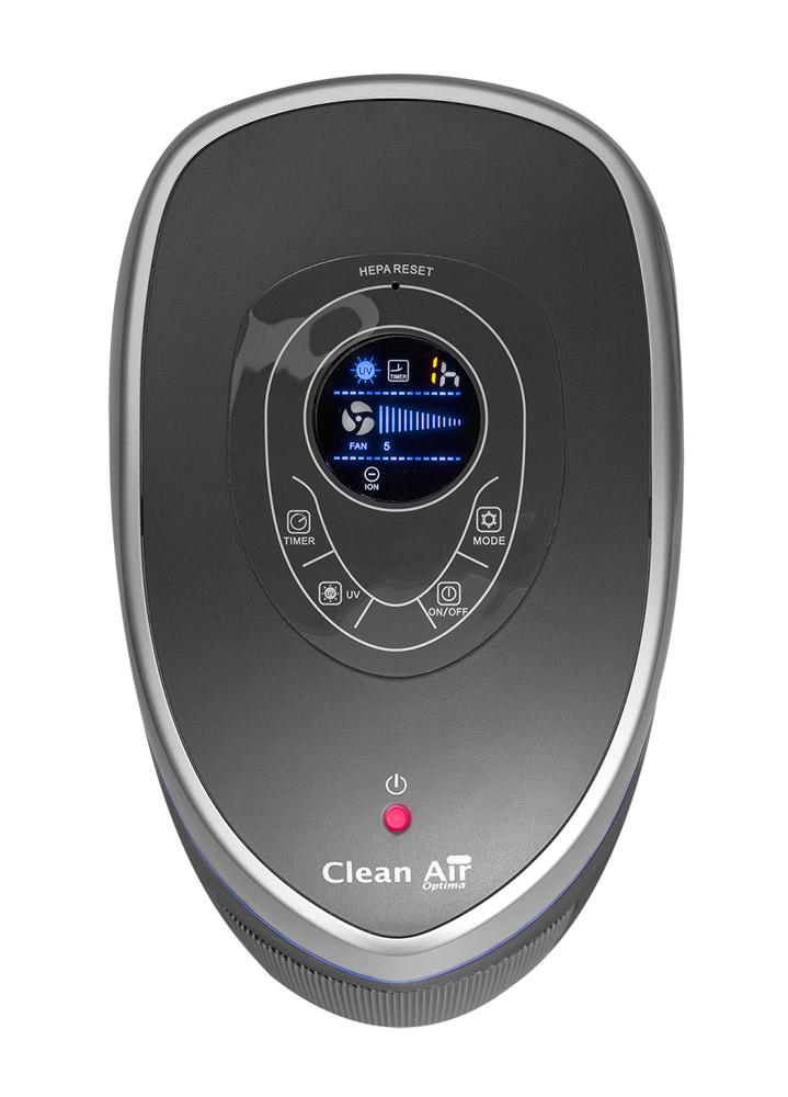 Čistička vzduchu s ionizátorem vhodná pro alergiky a astmatiky Clean Air Optima CA-508 - ovládací panel