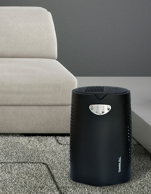 Čistička vzduchu LR 50 interiér