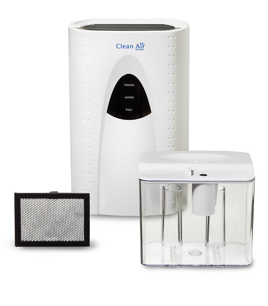 Odvlhčovač vzduchu a čistička vzduchu 2v1 s ionizátorem Clean Air Optima CA-703