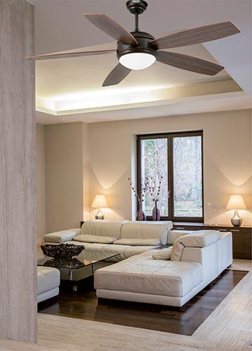 FARO 33314 - stropní ventilátory se světlem