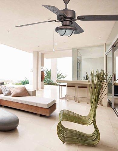 FARO 33356 - stropní ventilátory se světlem