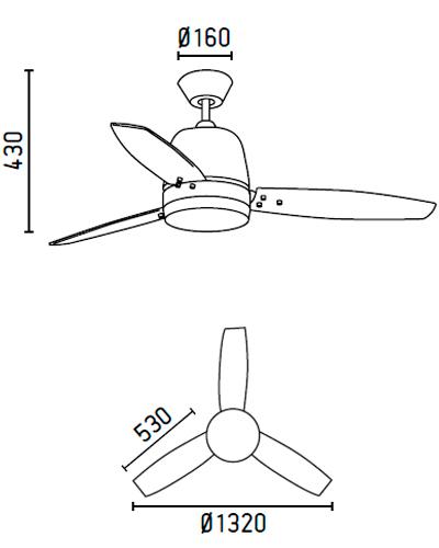 FARO 33368 schéma - domácí ventilátory