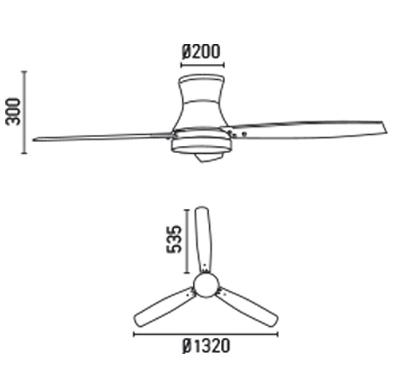 FARO 33386 schéma - ventilátor