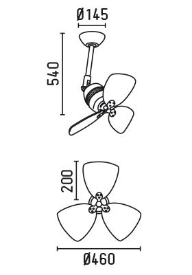 FARO 33450 schéma - ventilátor