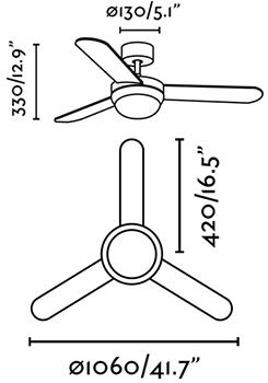 FARO 33602 schéma - domácí větrák